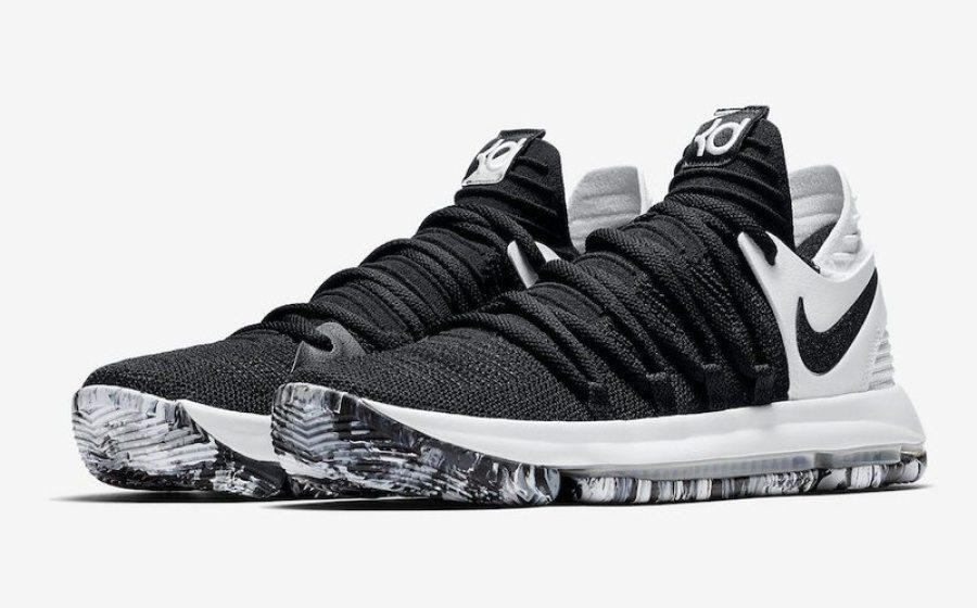 c757cba3ba67 Nike KD 10 Black White    Release Date