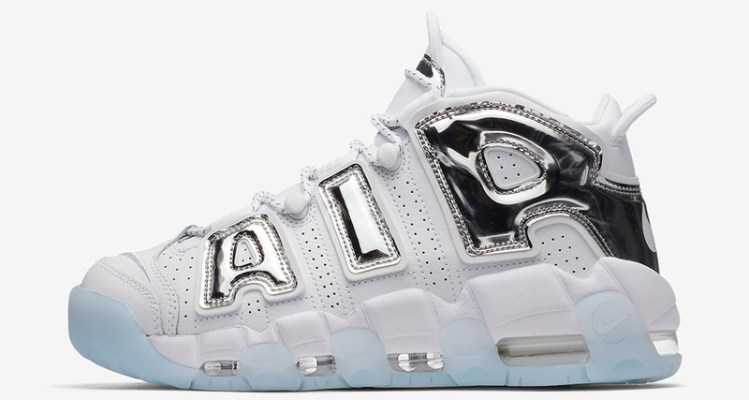 "Nike WMNS Air More Uptempo ""Chrome"""