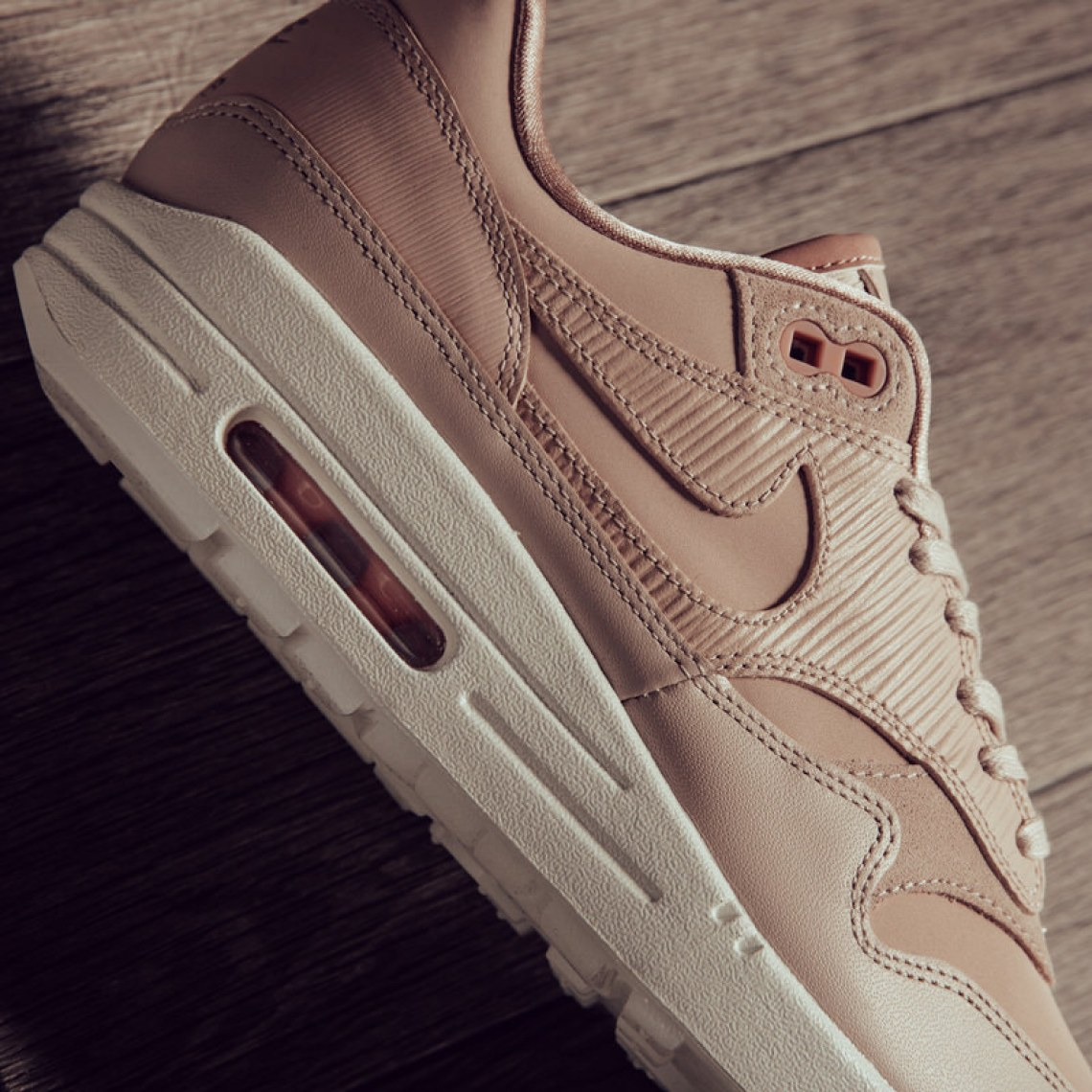 "watch bce00 7737c Nike Women's Air Max 1 Premium ""Particle Beige"""