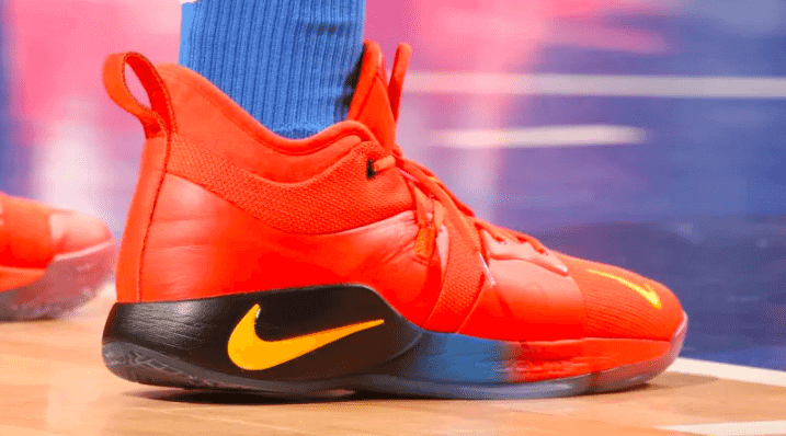 d672d858c9d762 ... the Nike PG2 will be released or if it's just a PE version. Either way,  peep photos via Sole Collector of George rocking his signature sneakers  below.