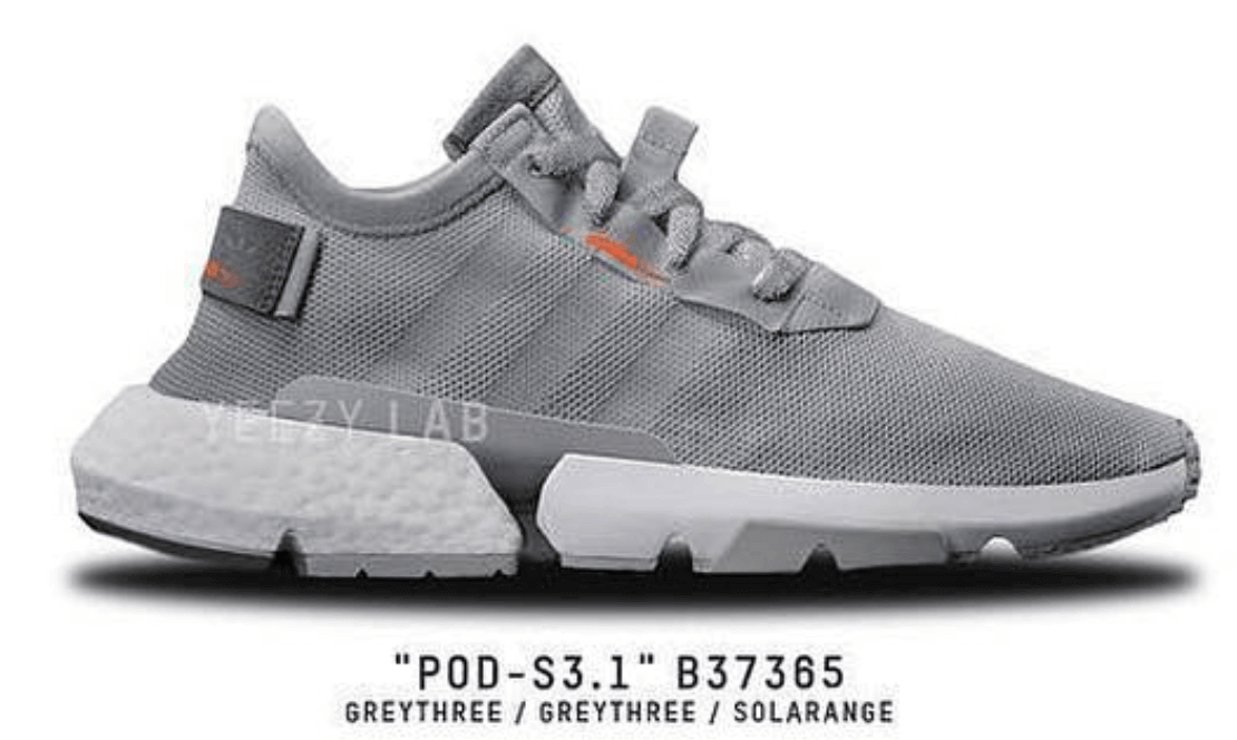 Black POD-S3.1 Sneakers adidas Originals