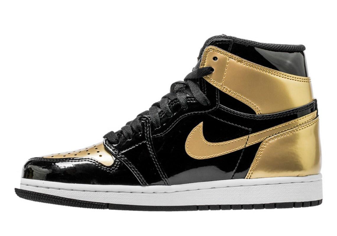 """8447cf4b477e Air Jordan 1 """"Gold Toe"""" Air Jordan 1"""