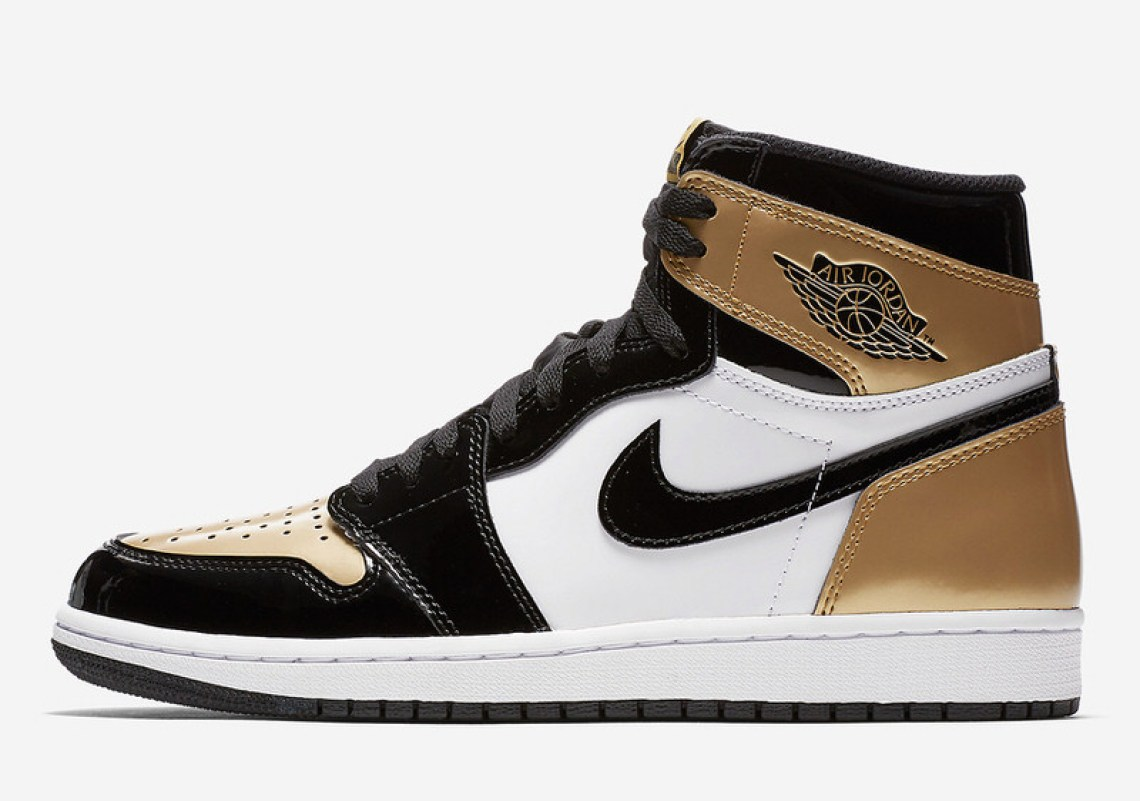 "Air Jordan 1 ""Gold Toe"""