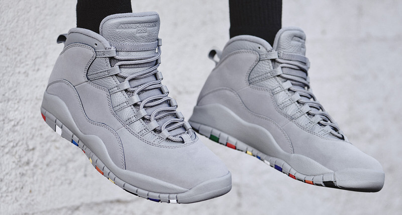 "c263b3fc0c89 Air Jordan 10 ""Cool Grey"" Honors Silhouette s 23rd Anniversary. Jan 16"