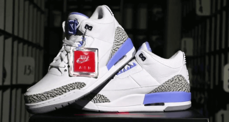 "Air Jordan 3 ""UNC"" Slated for March Madness"