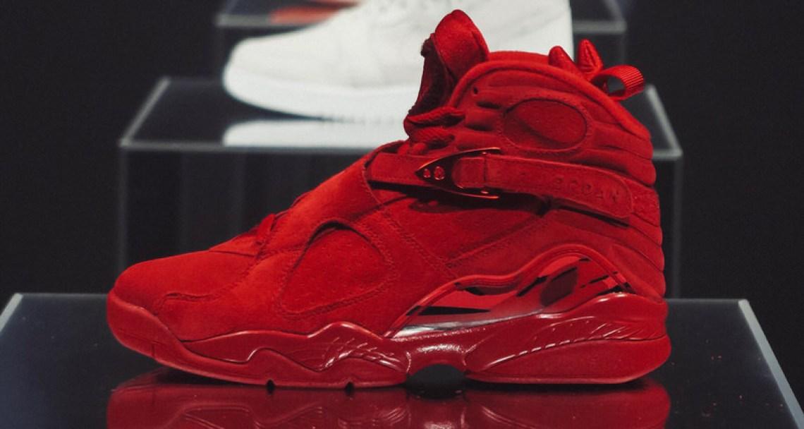 "Air Jordan 8 ""Valentine's Day"""