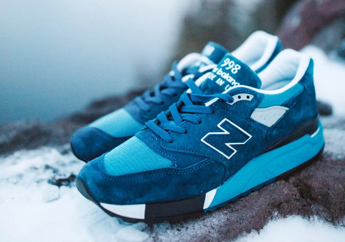 "J.Crew x New Balance 998 ""National Parks"" Pack"
