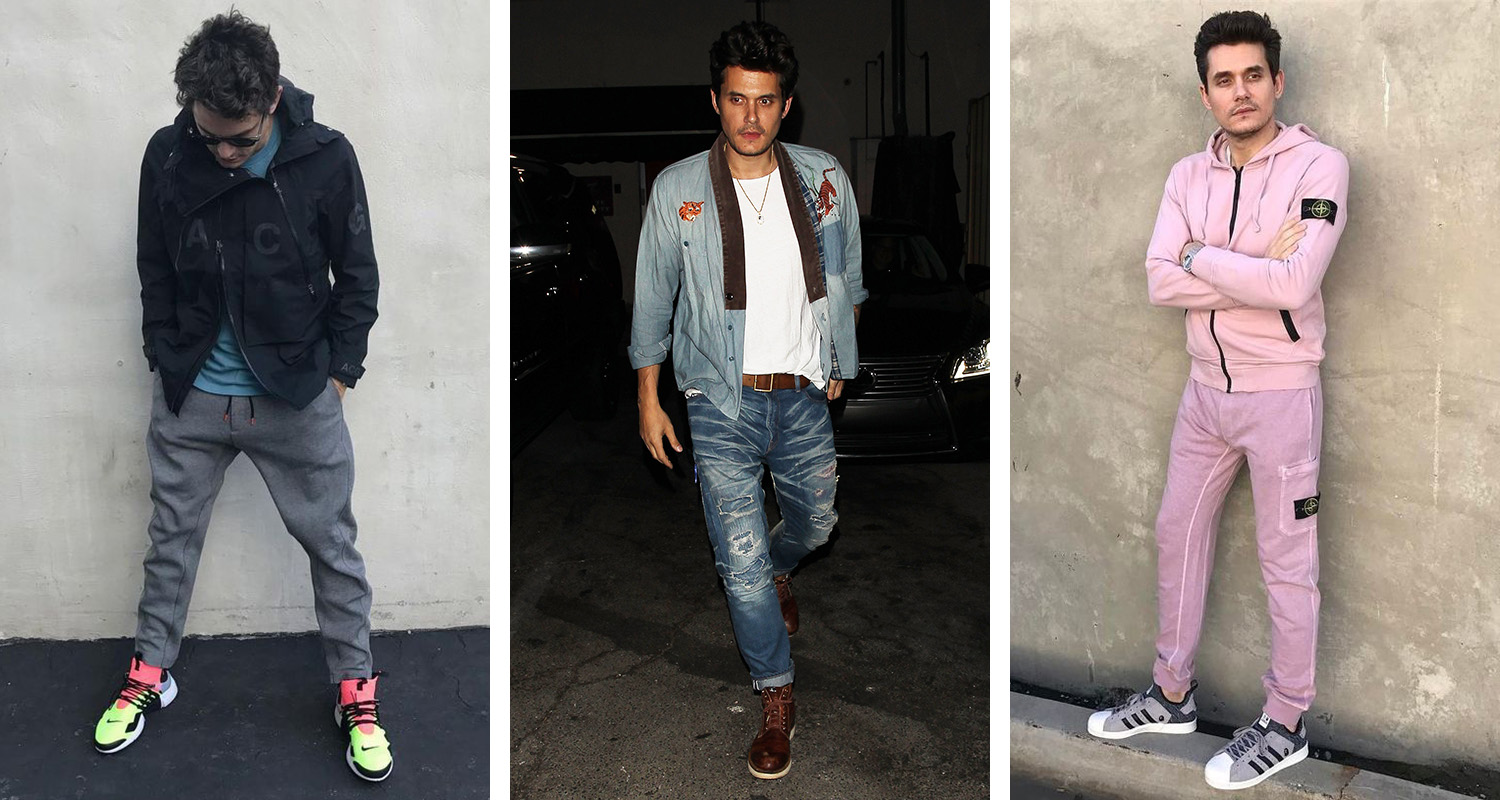 bc5a9acea01f What s In Their Wardrobe     John Mayer