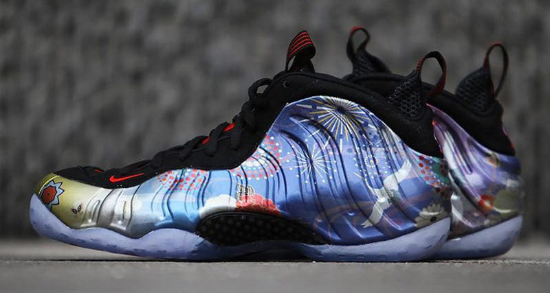 "1a4b2dadc1a Nike Air Foamposite One ""Chinese New Year""    Another Look"