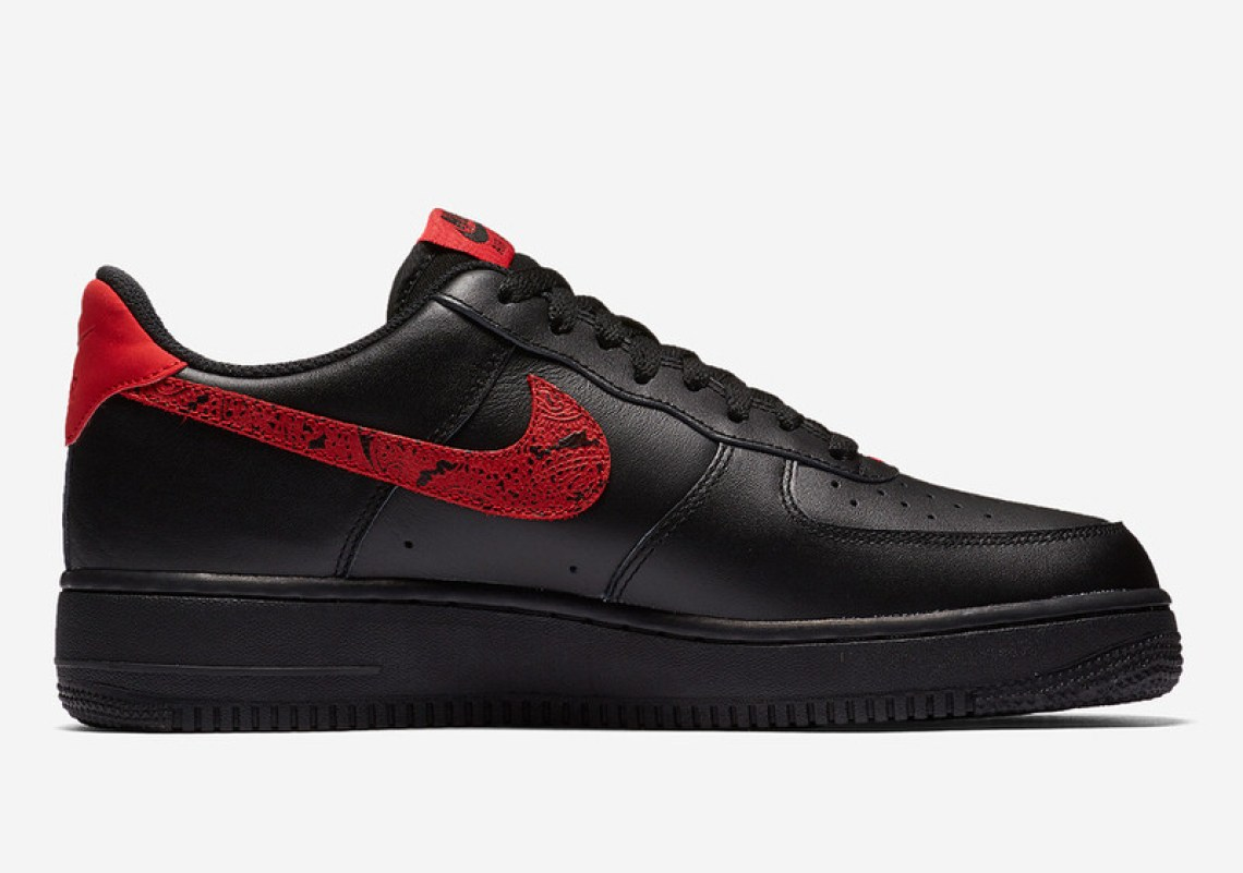 """Nike Air Force 1 Low """"Red Paisley"""""""