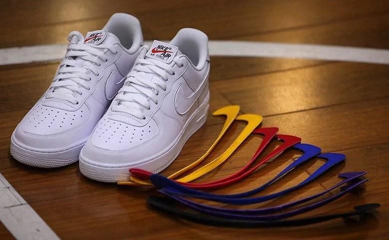 Nike Air Force 1 Low DIY First Look | Nice Kicks