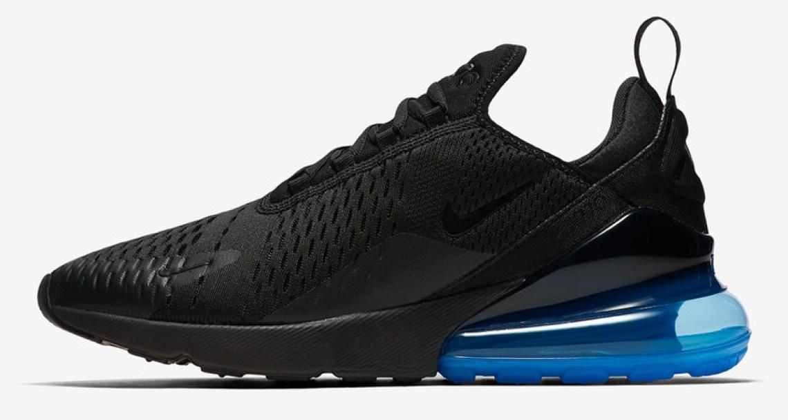 Nike Air Max 270 Black/Photo Blue