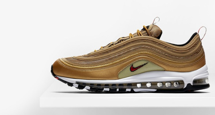 """Nike Air Max 97 Italy """"Gold"""""""