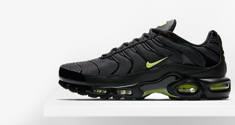 "check out b74b6 15321 Nike Air Max Plus ""Neon"" // Release Date 