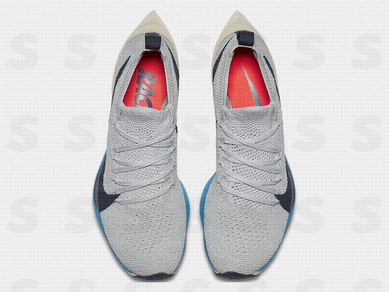 6e34f1891a804 free shipping grey orange mens nike zoom vaporfly elite shoes 32516 ...