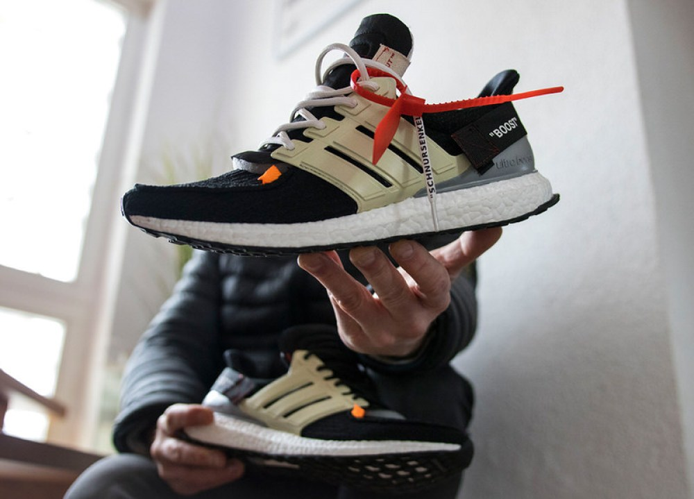 super popular 23efd aef0c OFF-WHITE Elements Transform Custom adidas Ultra Boost ...