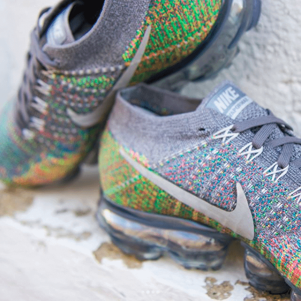c680c6518efb4 Nike Air VaporMax Dark Grey Multicolor Available Now