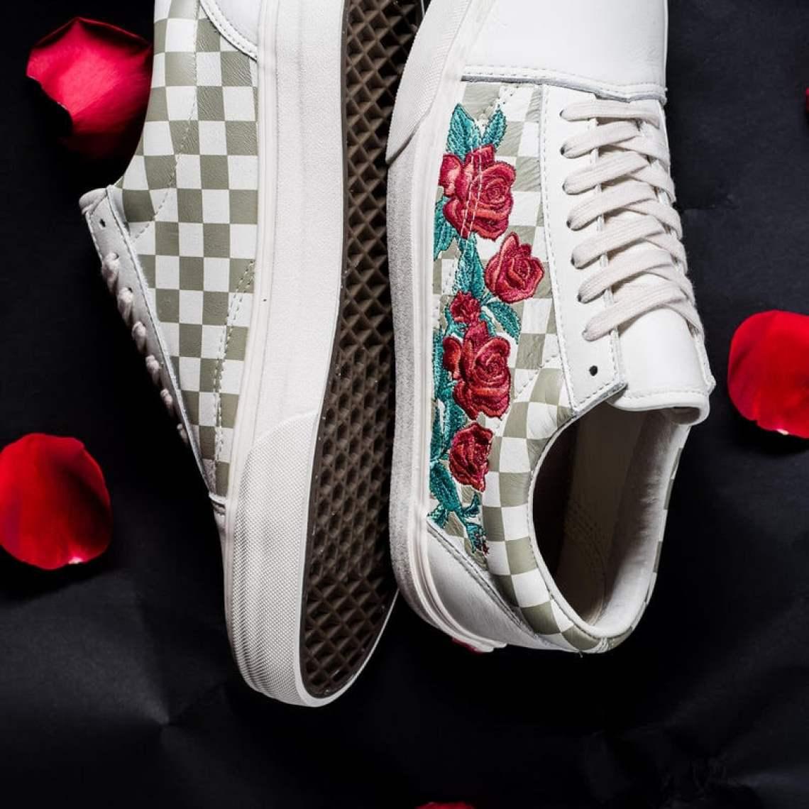 """Vans Old Skool DX """"Rose Embroidery"""""""