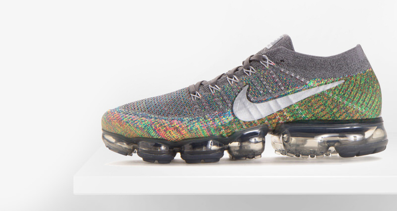 detailed look 77d1f a92fd Nike Air VaporMax Dark Grey Multicolor    Available Now
