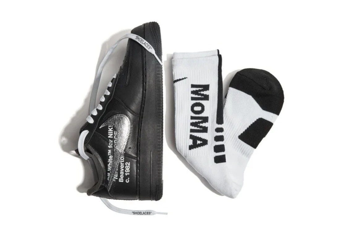 Virgil Abloh x Nike Air Force 1 MoMA