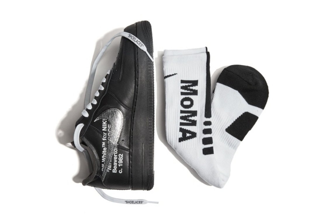 huge sale f26ab f7b66 ... Virgil Abloh x Nike Air Force 1 MoMA