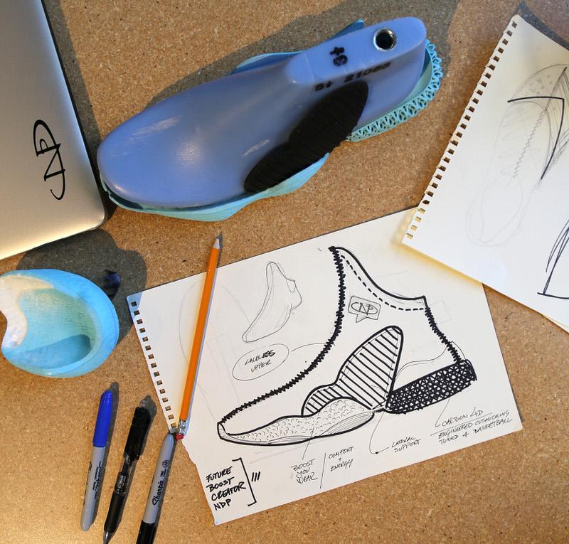 Progettare l'adidas futureboost creatore ndp con la brooklyn