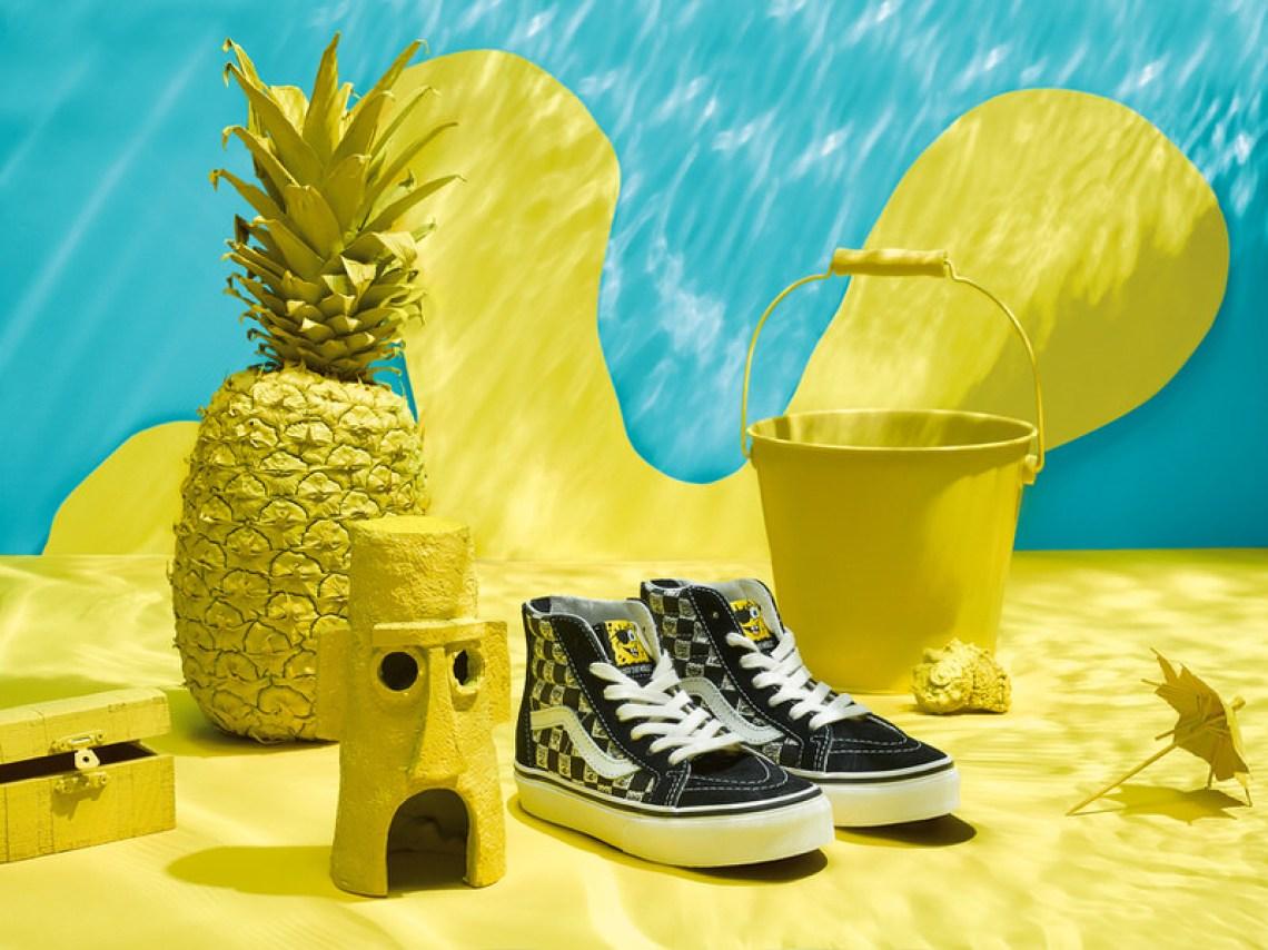 SpongeBob Squarepants x Vans Vault Sk8-Hi