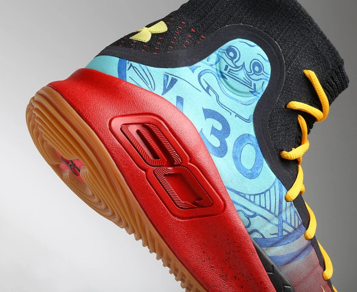 Stephen Curry's Exact 'Chinese New Year' Under Armour ...