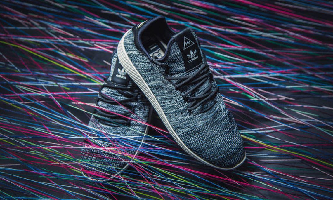 7e49eec0c Pharrell adidas Tennis Hu Light Blue CP9764 shoes amp more shoes