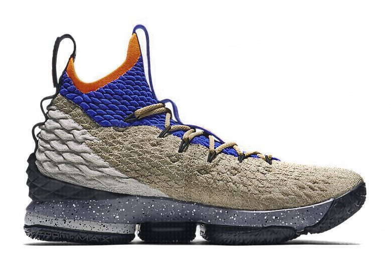 "Nike LeBron 15 ""AGC Mowabb"" PE"