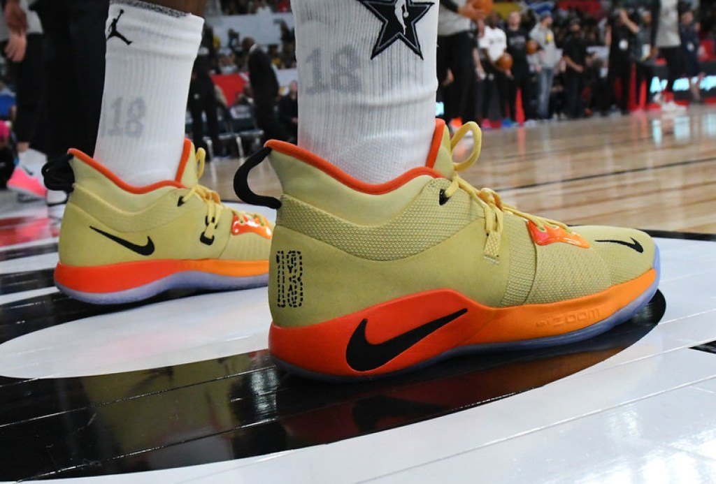 A Closer Look at the Paul George s Latest Nike PG2 PE  ebffba0d2