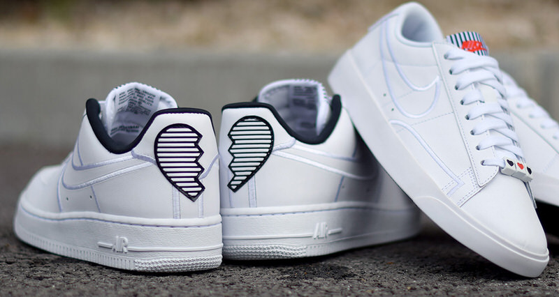 """quality design cf064 5a569 Nike s """"Valentine s Day"""" Pack Features Broken Hearts"""
