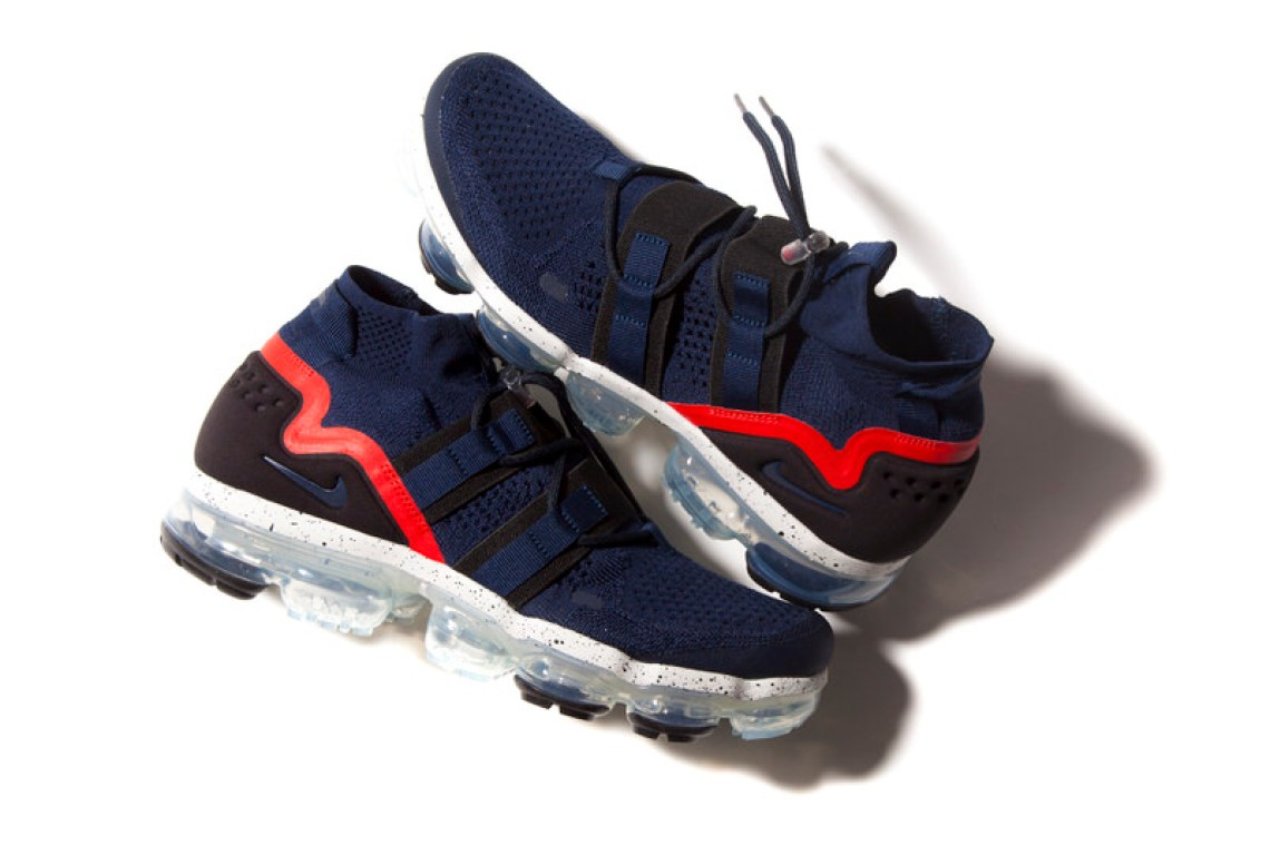 "fbd9b7fbe661 Nike Air VaporMax Utility ""College Navy""    Available Now"