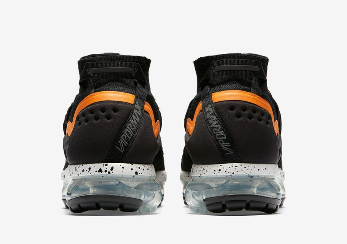 dc76aec22c91 Nike Air VaporMax Utlity Black Orange Peel March 2018