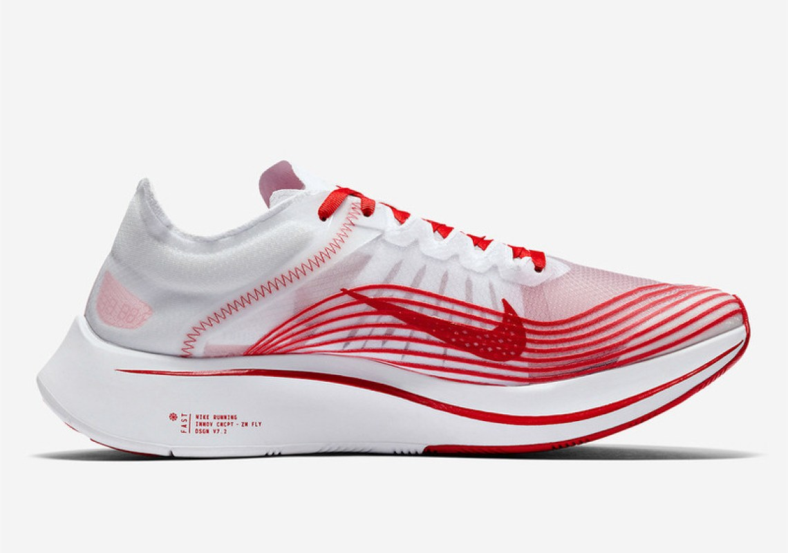 Nike Zoom Fly SP White/Red