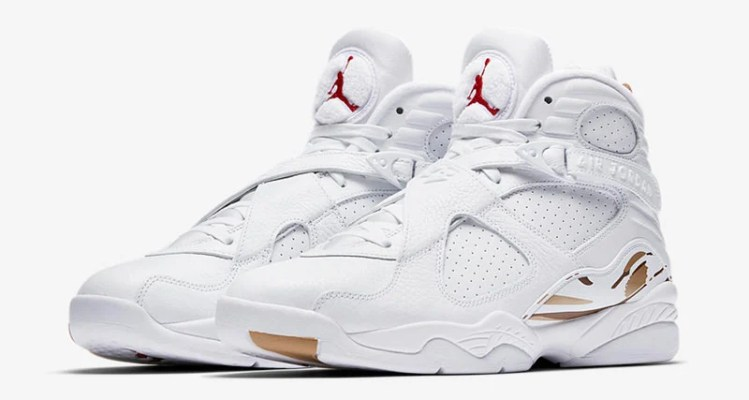 "OVO x Air Jordan 8 ""White"""