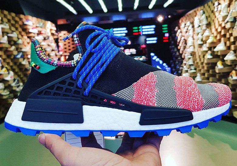 Pharrell Branco X Adidas Nmd Hu Tracce