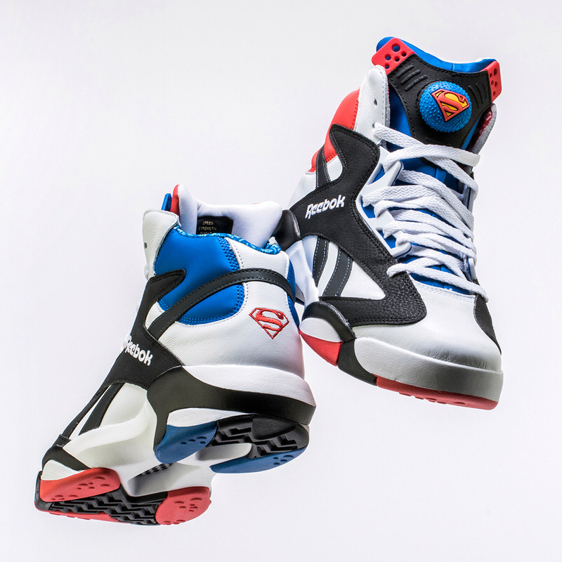 28a0e0505be ... usa shoe palace x reebok shaq attaq superman 71970 ed305