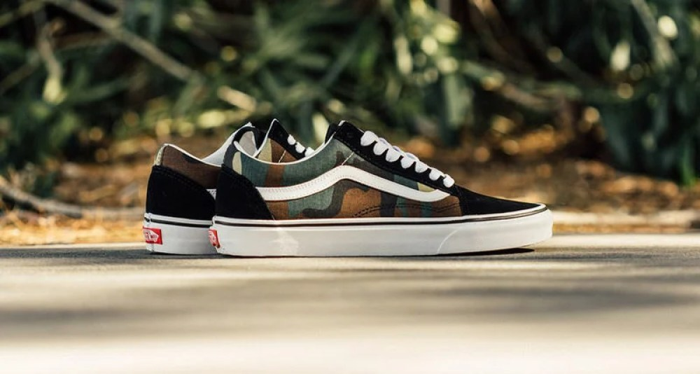 "Vans Old Skool ""Woodland Camo"""