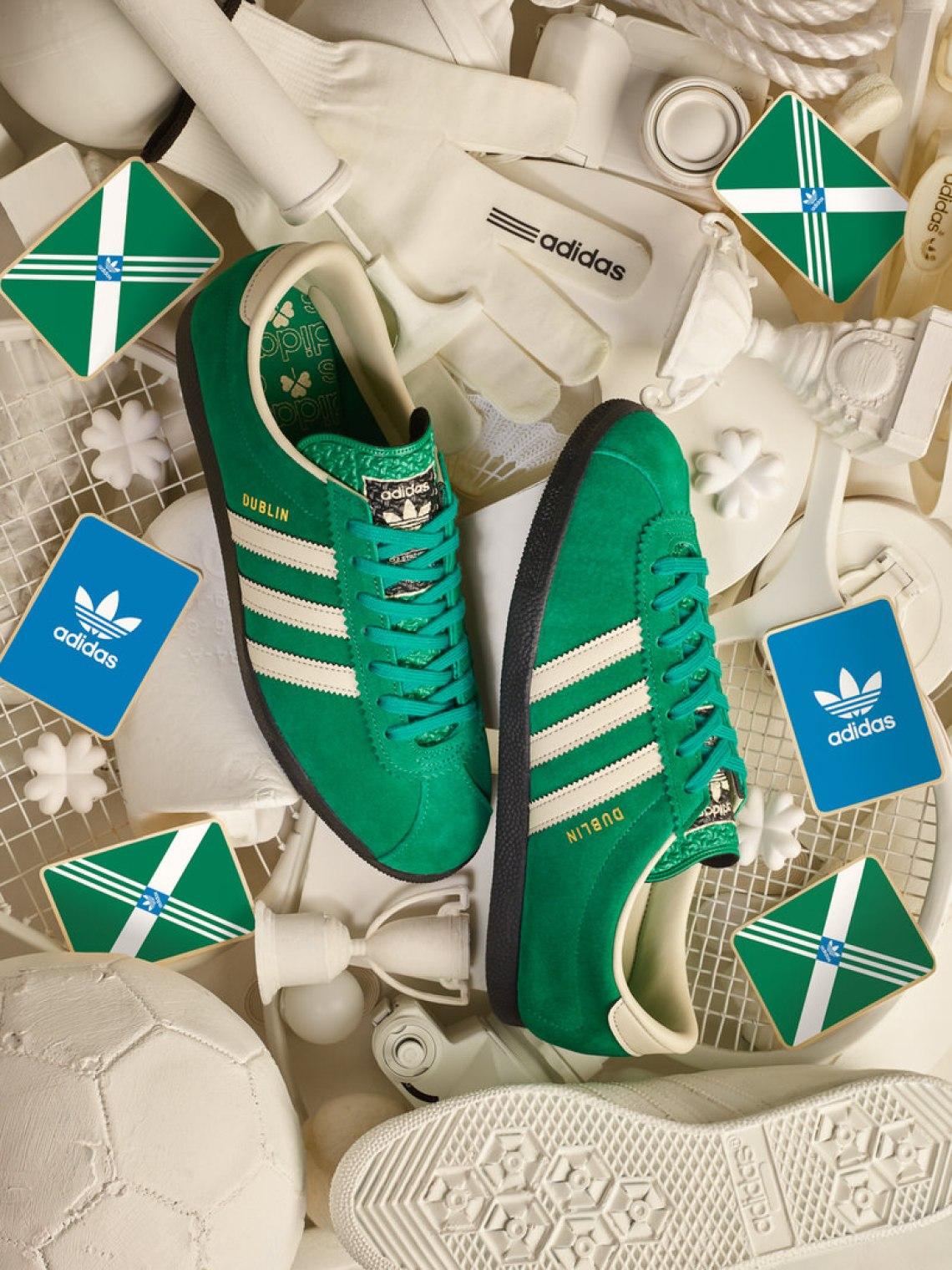 "size? x adidas Dublin ""St. Patrick's Day"""