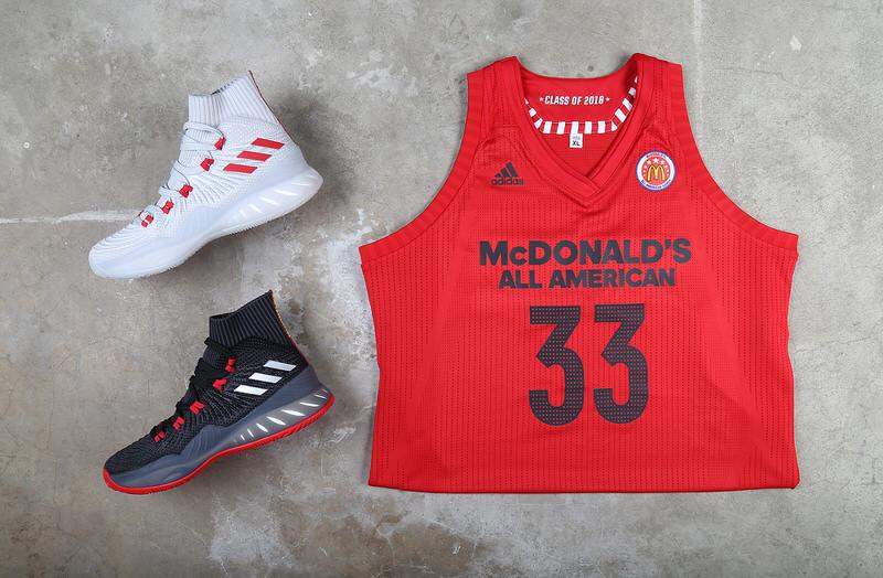 Il 2018 mcdonald's all - american game adidas maglie & crazy