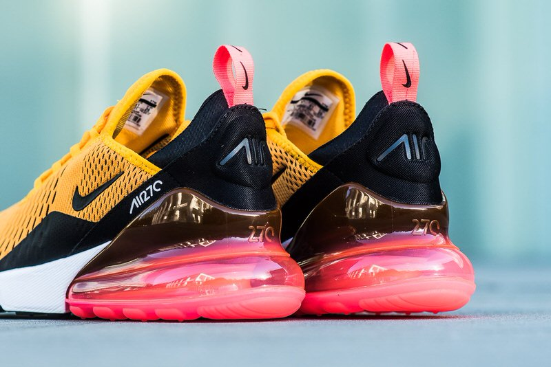 "... Nike Air Max 270 ""University Gold/Black"" ..."