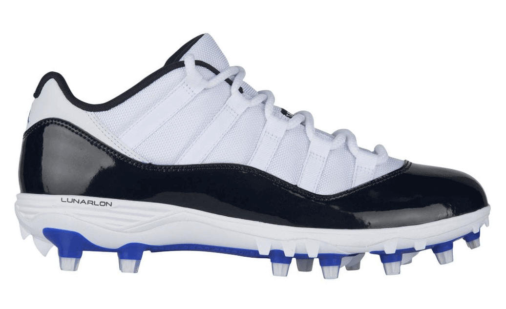fe20d21f6 Air Jordan 11 Cleats Drop for Spring Football