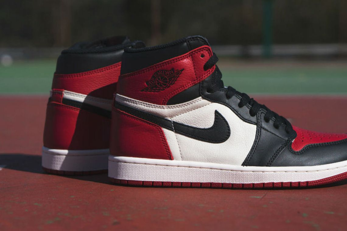 """Air Jordan 1 """"Bred Toe"""""""