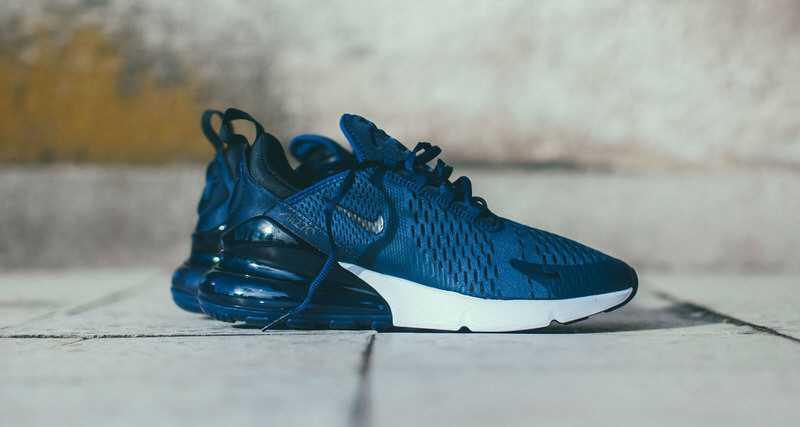 """e92235ebeb8 Nike Air Max 270 """"Midnight Navy""""    Available Now"""
