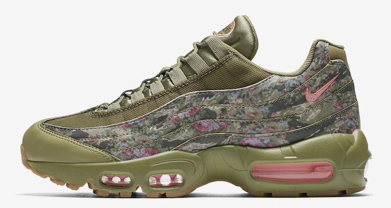 check out c80f2 beddf netherlands nike air max 95 floral camo april 2018 nice kicks eff7c 6a654