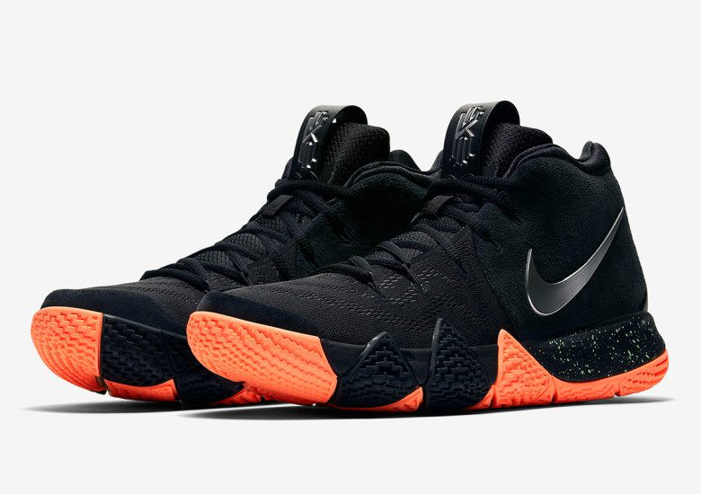 Nike Kyrie 4 Black/Orange