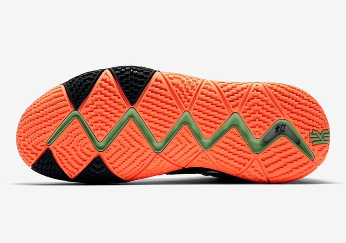 6c6b7b9aa74 Nike Kyrie 4 Black Orange Release Date