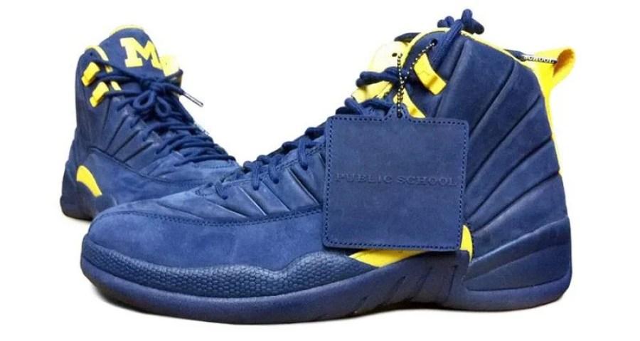 "outlet store d4c88 9239a Air Jordan 12 ""Michigan"" Releases in June"