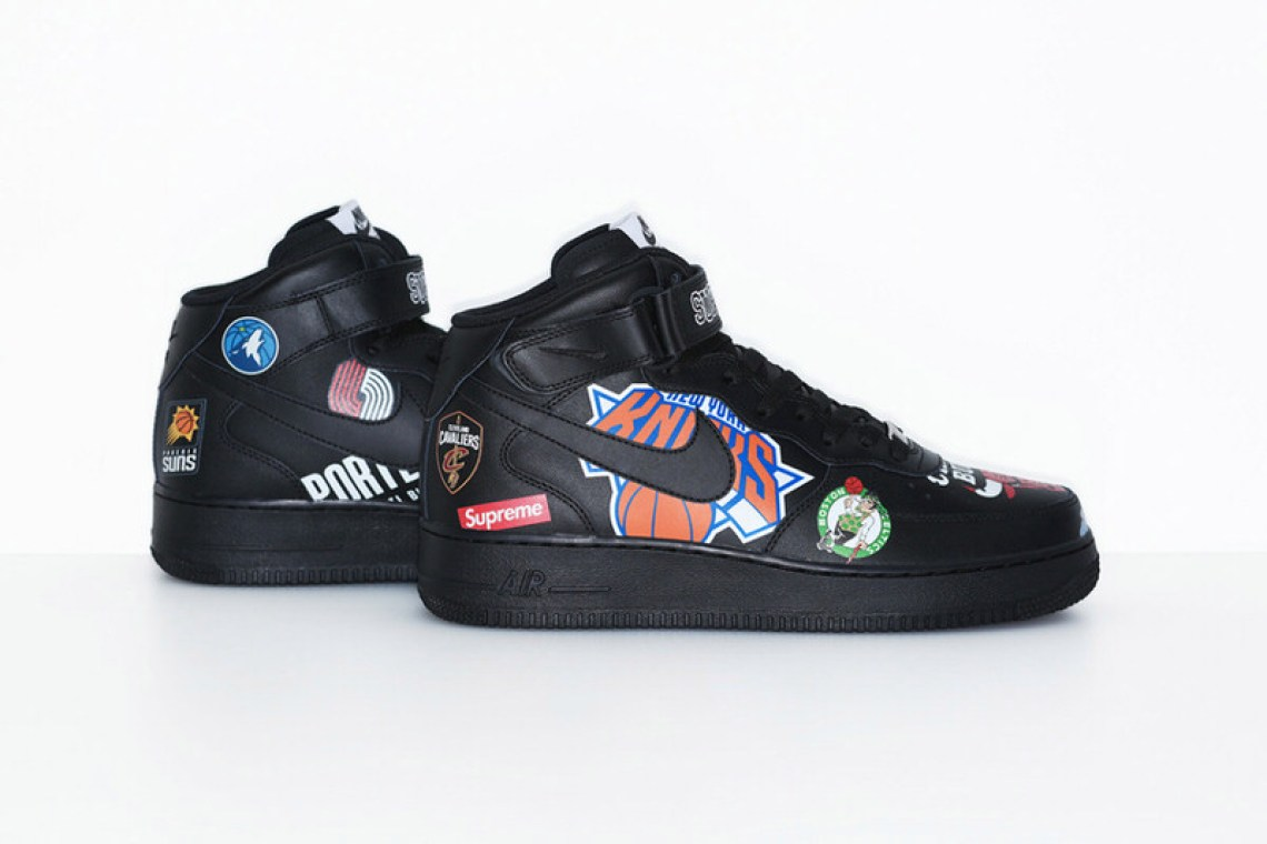 c9168fd844b0f6 ... Supreme x NBA x Nike Air Force 1 Mid Pack